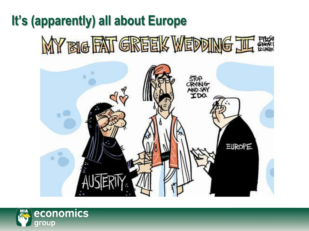 It's (apparently) all about Europe