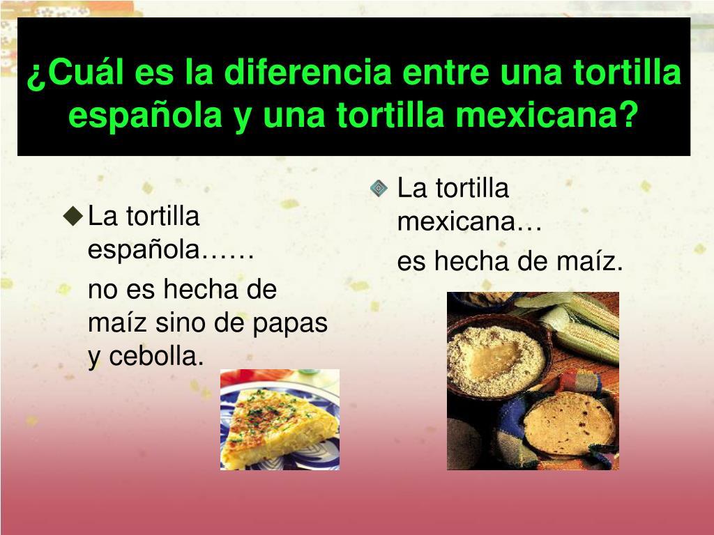 La tortilla española……