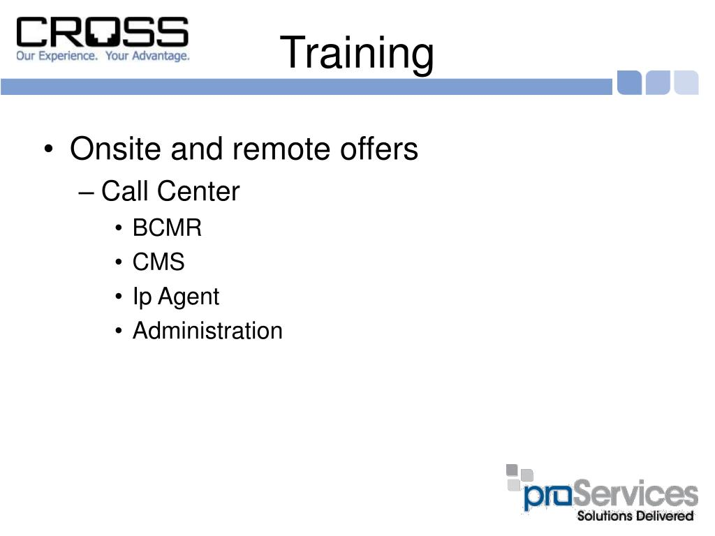 Onsite and remote offers
