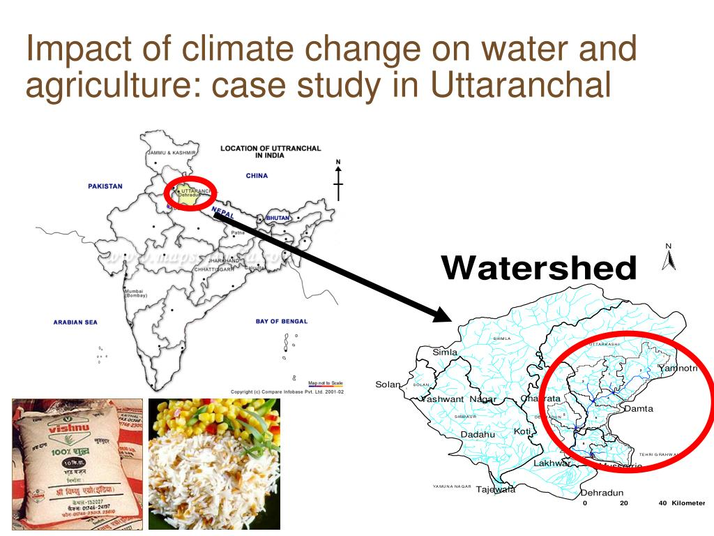 Impact of climate change on water and agriculture: case study in Uttaranchal
