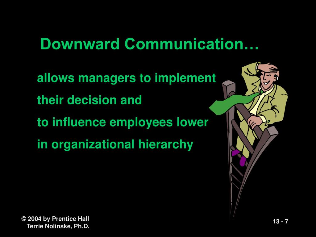 Downward Communication…