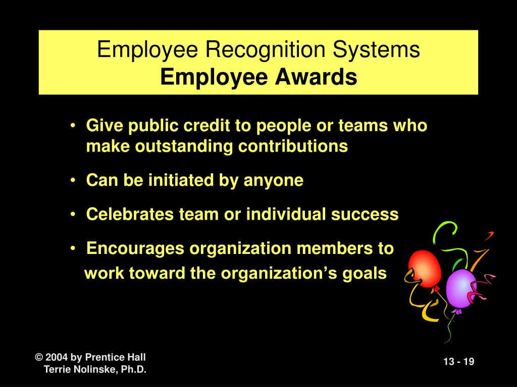 Employee Recognition Systems