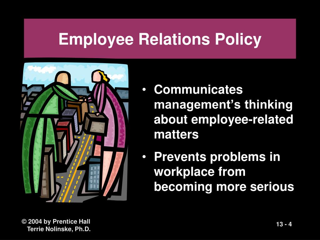 Employee Relations Policy