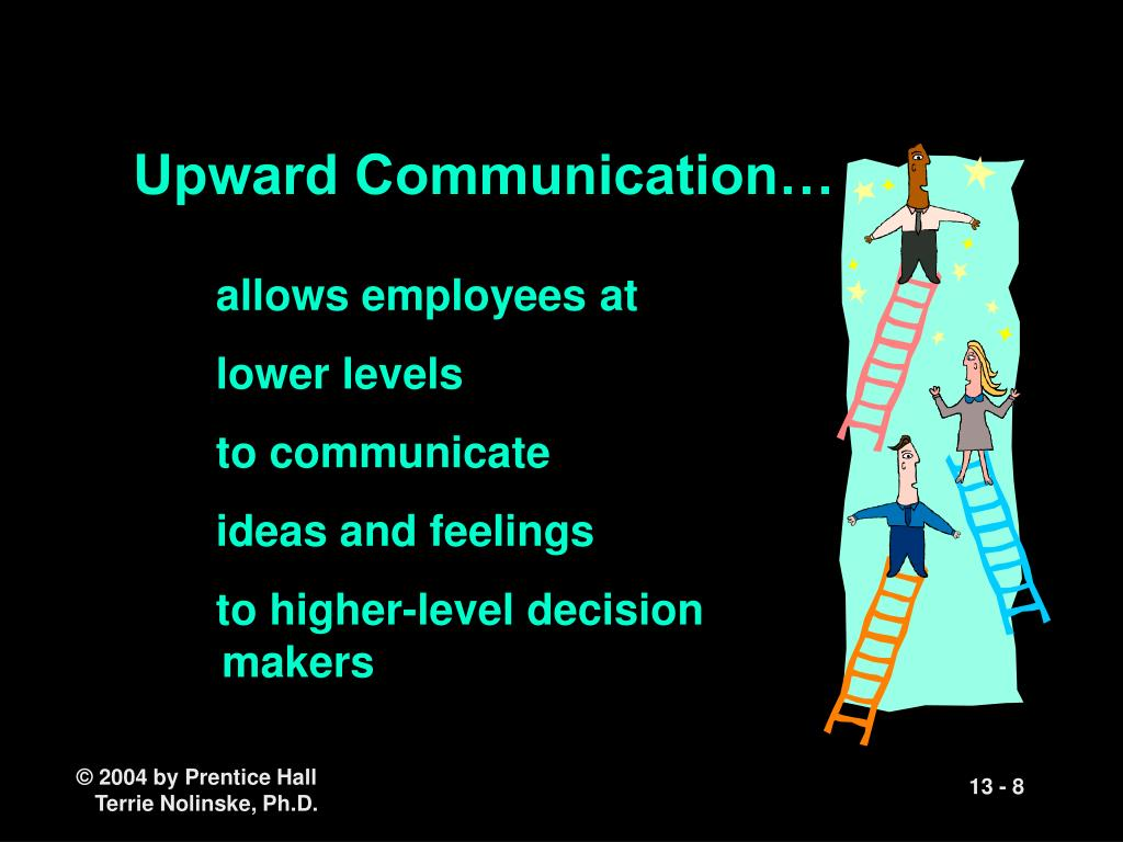 Upward Communication…