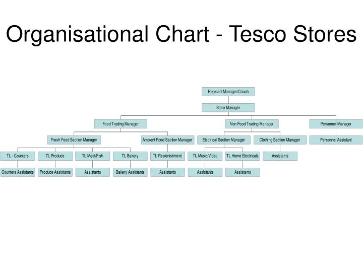 organizational structure for tesco plc Unit 1 business environment assignment - tesco plc introduction the assignment primarily discusses about various responsibility and purposes of different types of organization and tesco.