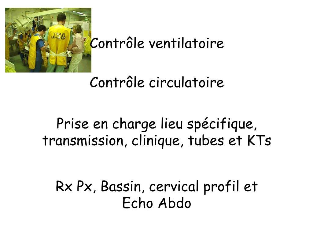 Contrôle ventilatoire