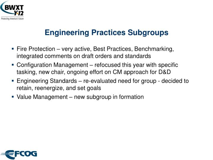 Engineering practices subgroups l.jpg