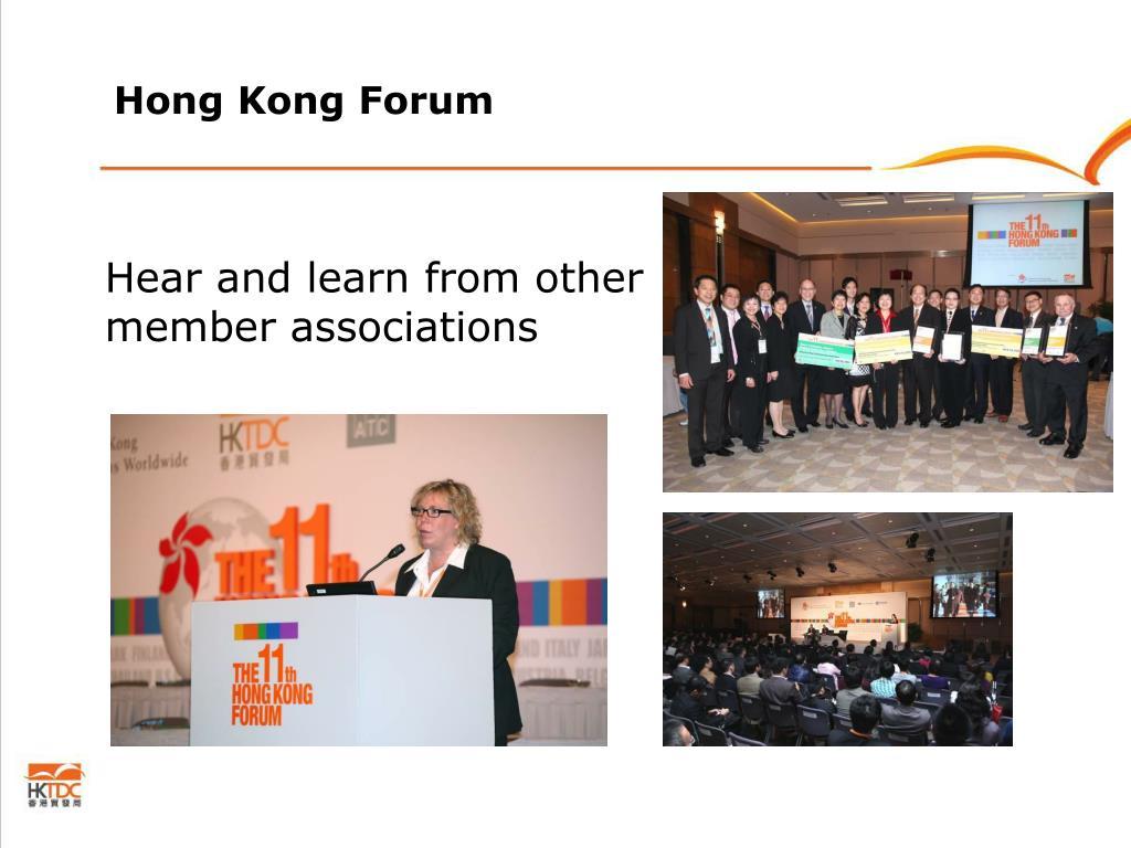 Hong Kong Forum