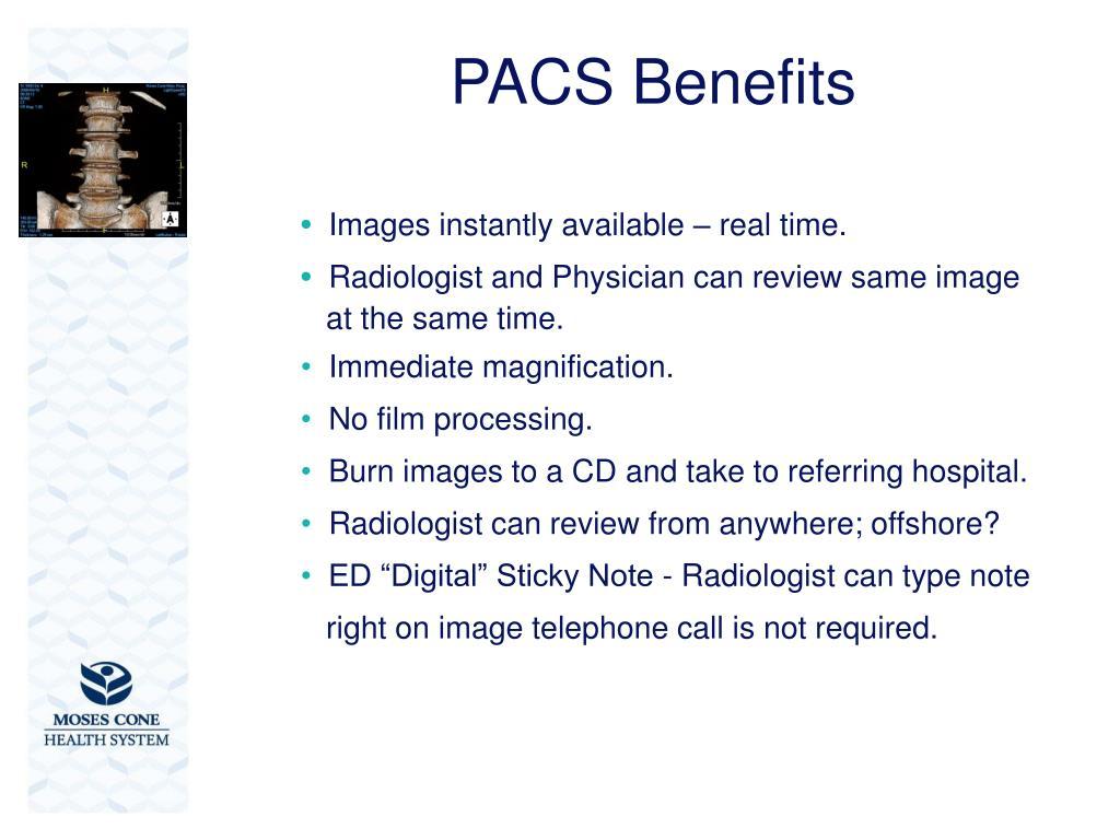 PACS Benefits