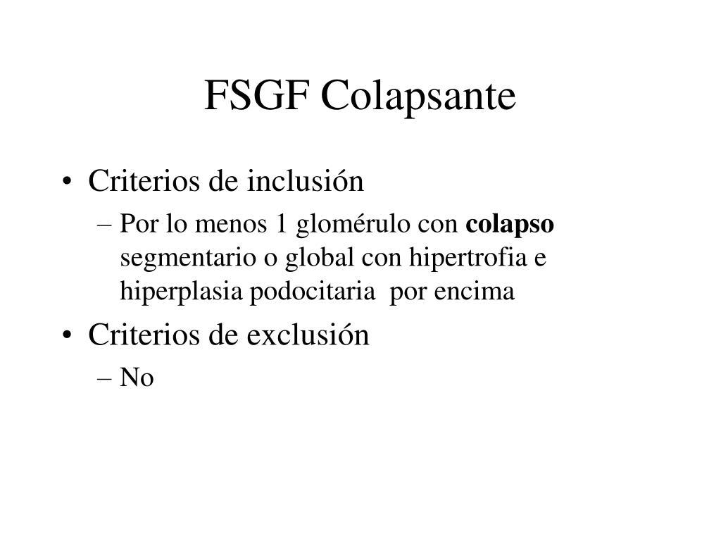 FSGF Colapsante