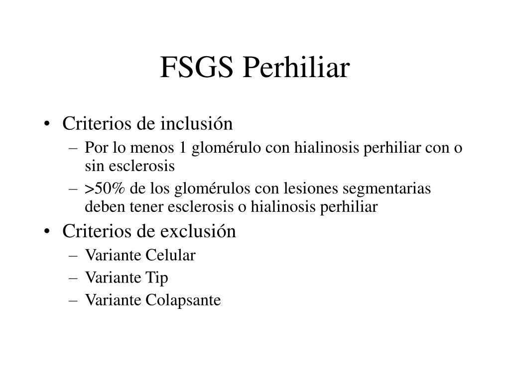 FSGS Perhiliar