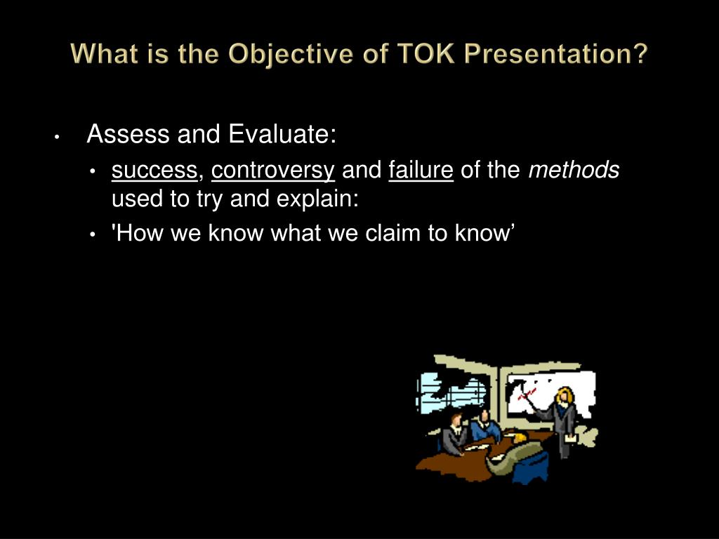 What is the Objective of TOK Presentation?