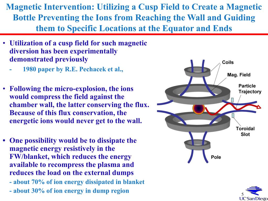 Magnetic Intervention: Utilizing a Cusp Field to Create a Magnetic Bottle Preventing the Ions from Reaching the Wall and Guiding them to Specific Locations at the Equator and Ends