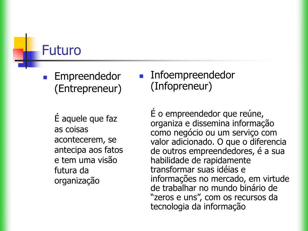 Empreendedor (Entrepreneur)