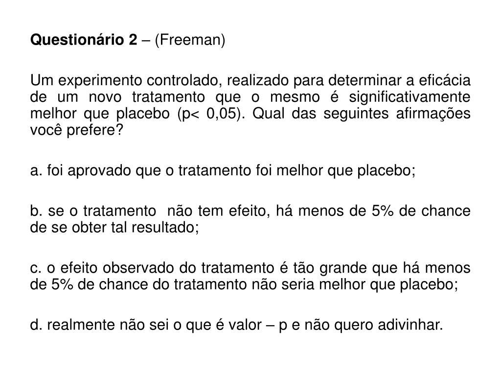 Questionário 2