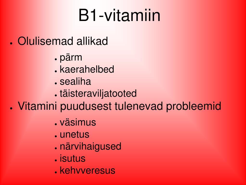 B1-vitamiin