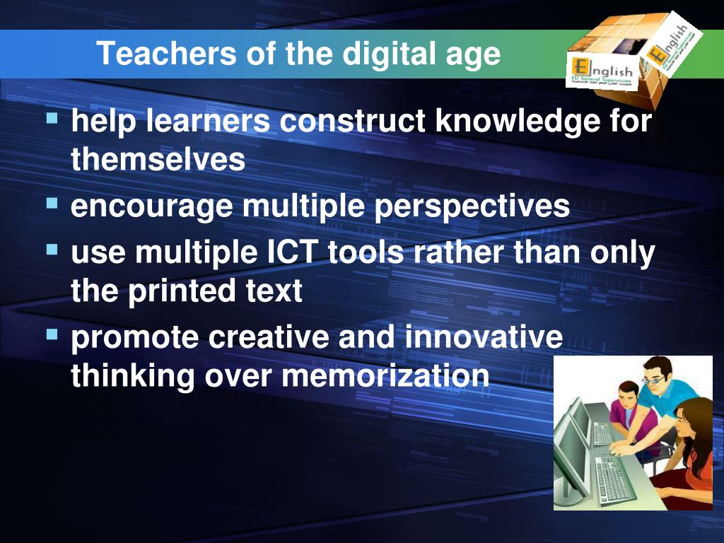 Teachers of the digital age