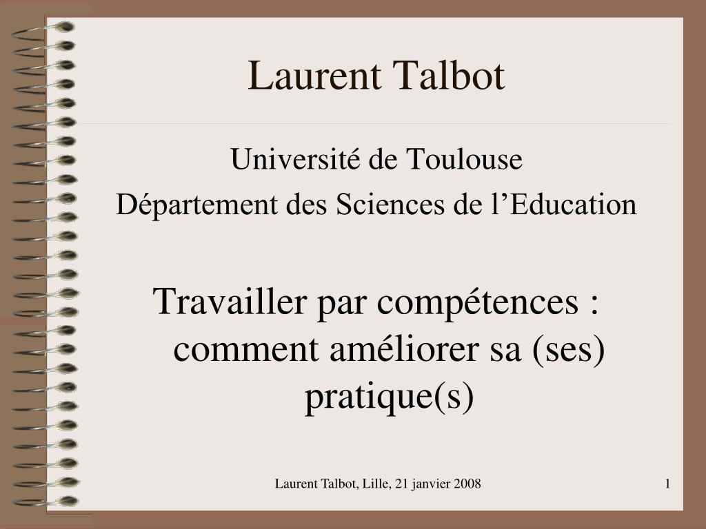 Laurent Talbot