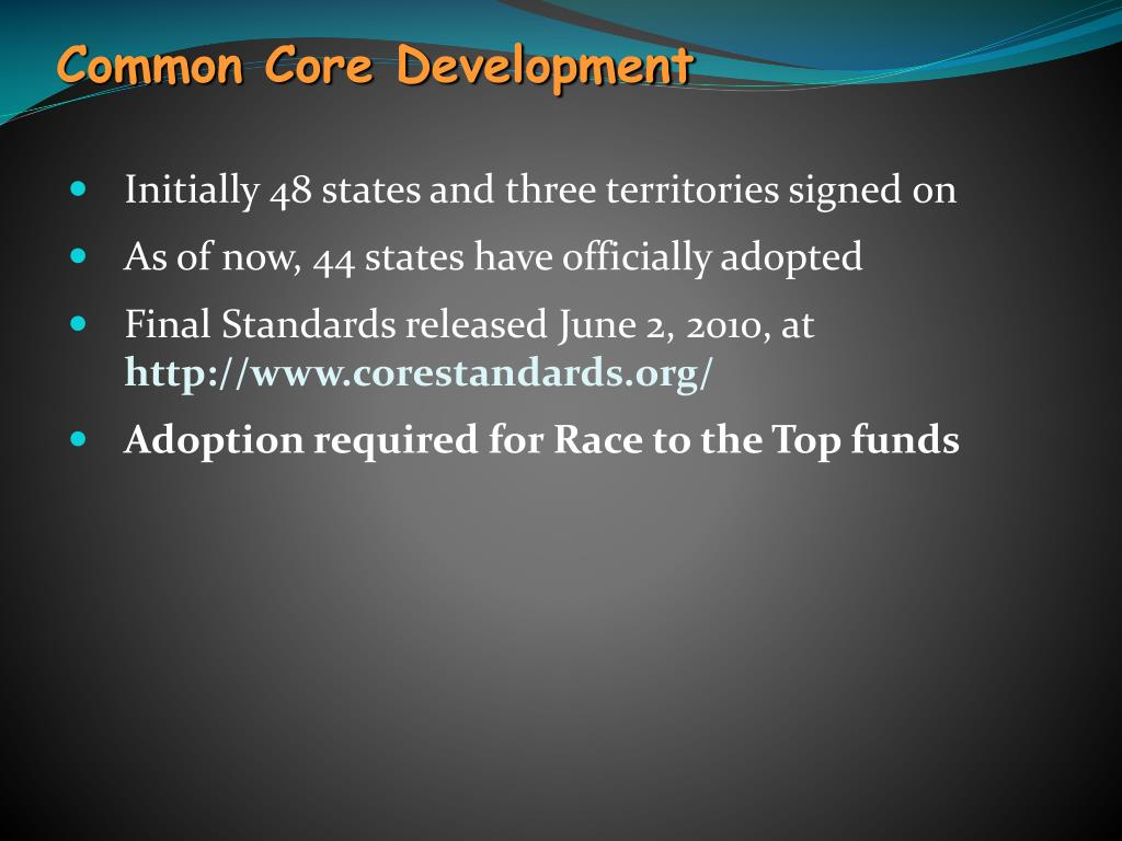 Common Core Development