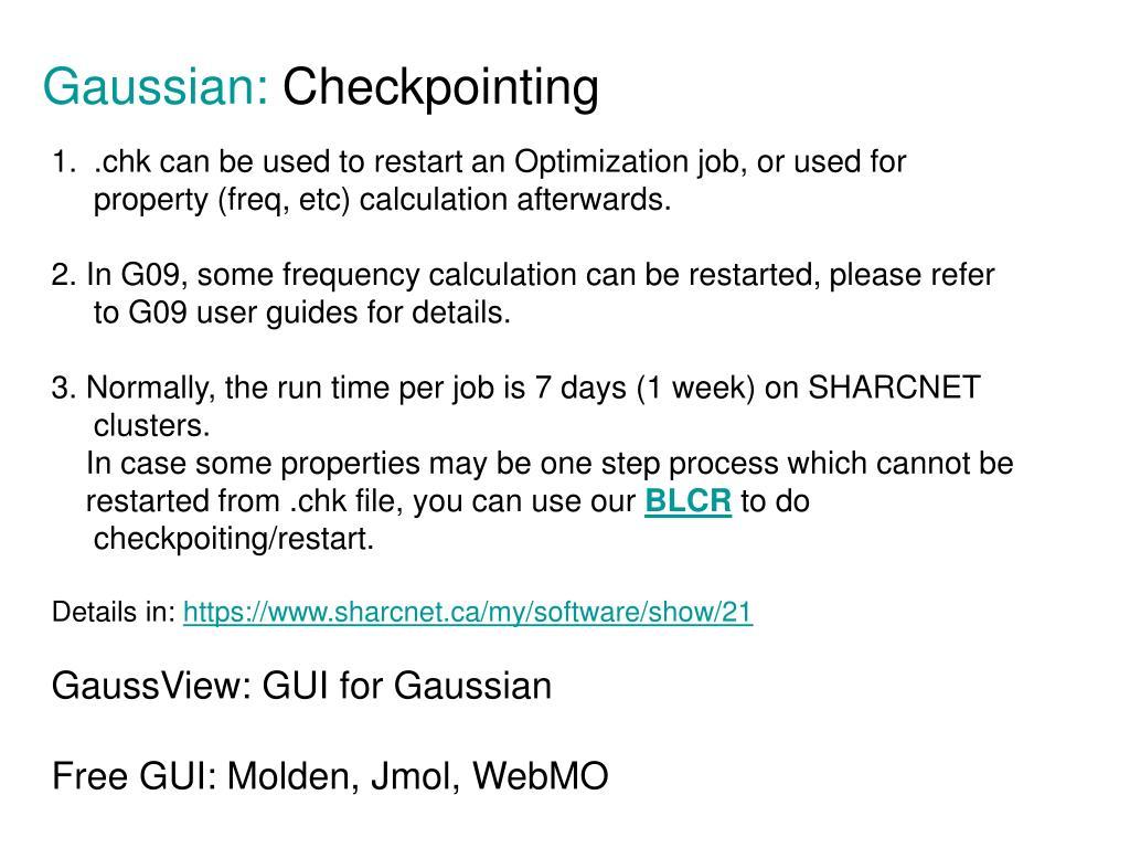 Gaussian: