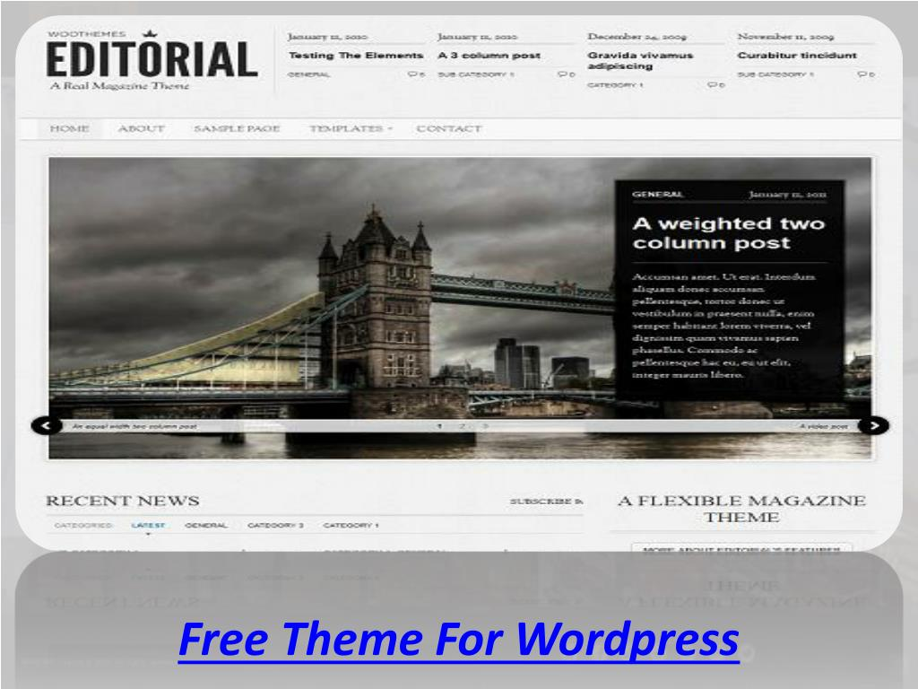 Free Theme For Wordpress
