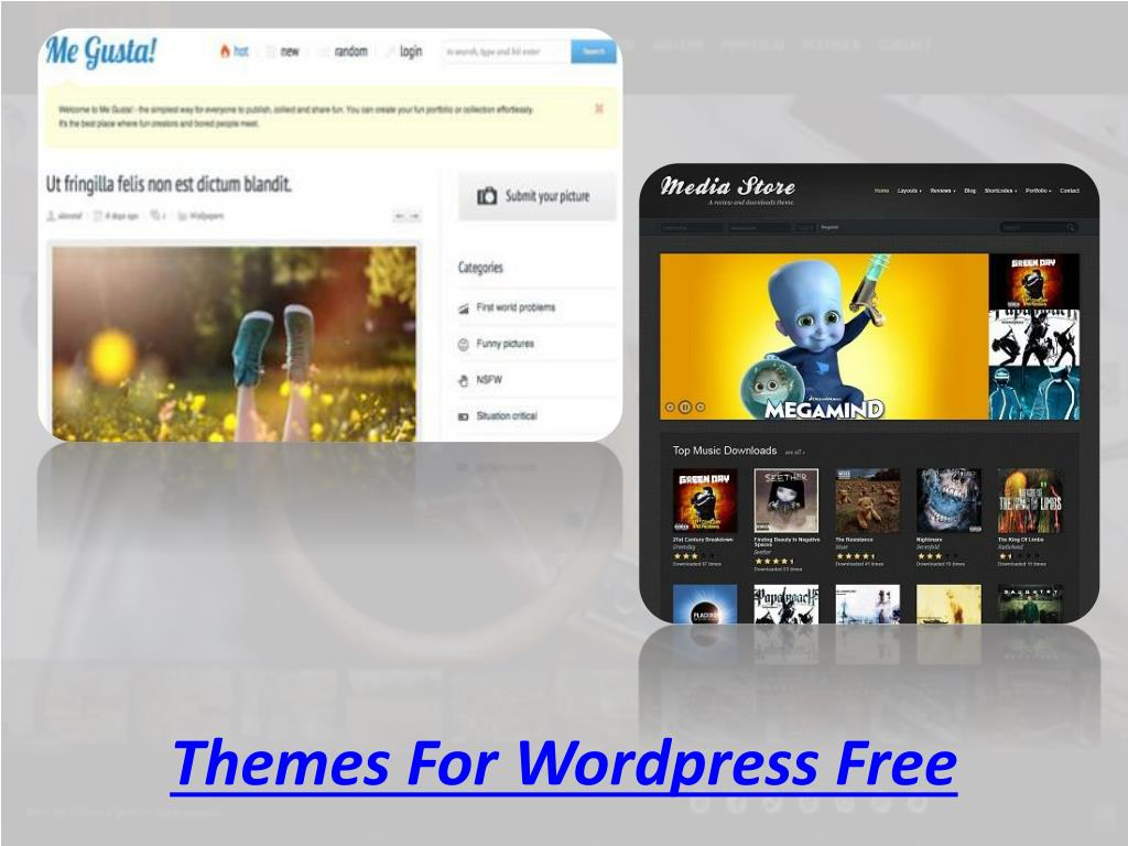 Themes For Wordpress Free