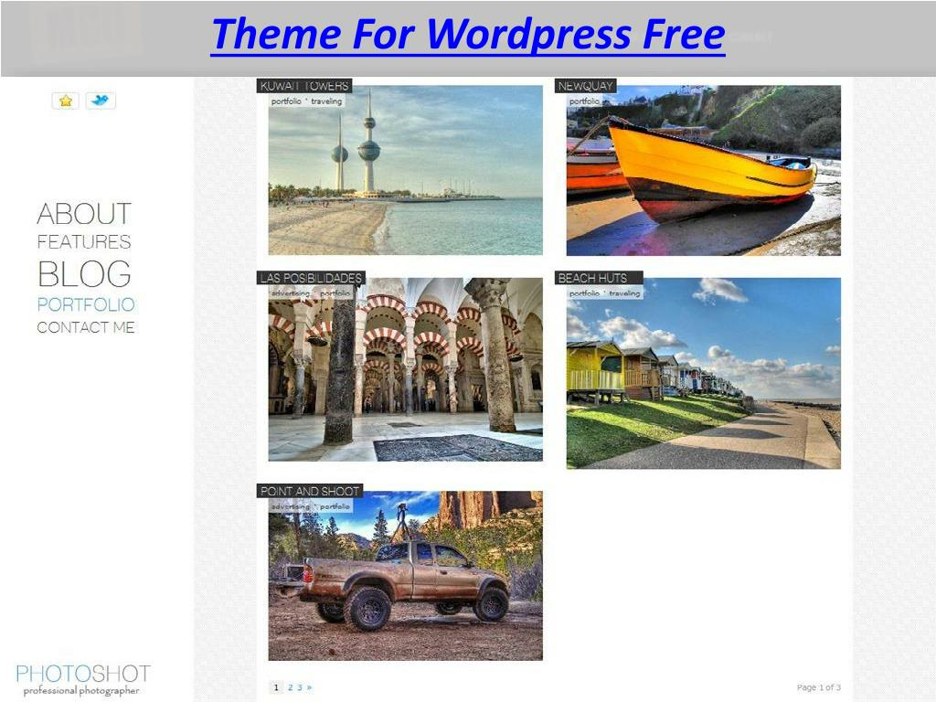 Theme For Wordpress Free