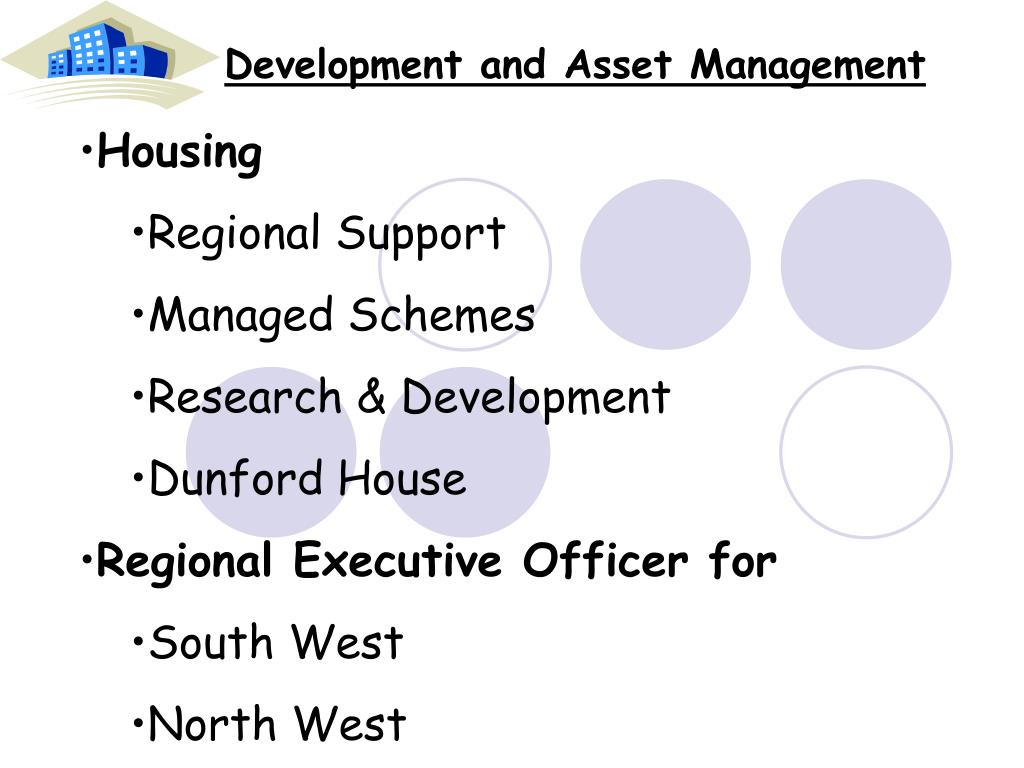 Development and Asset Management