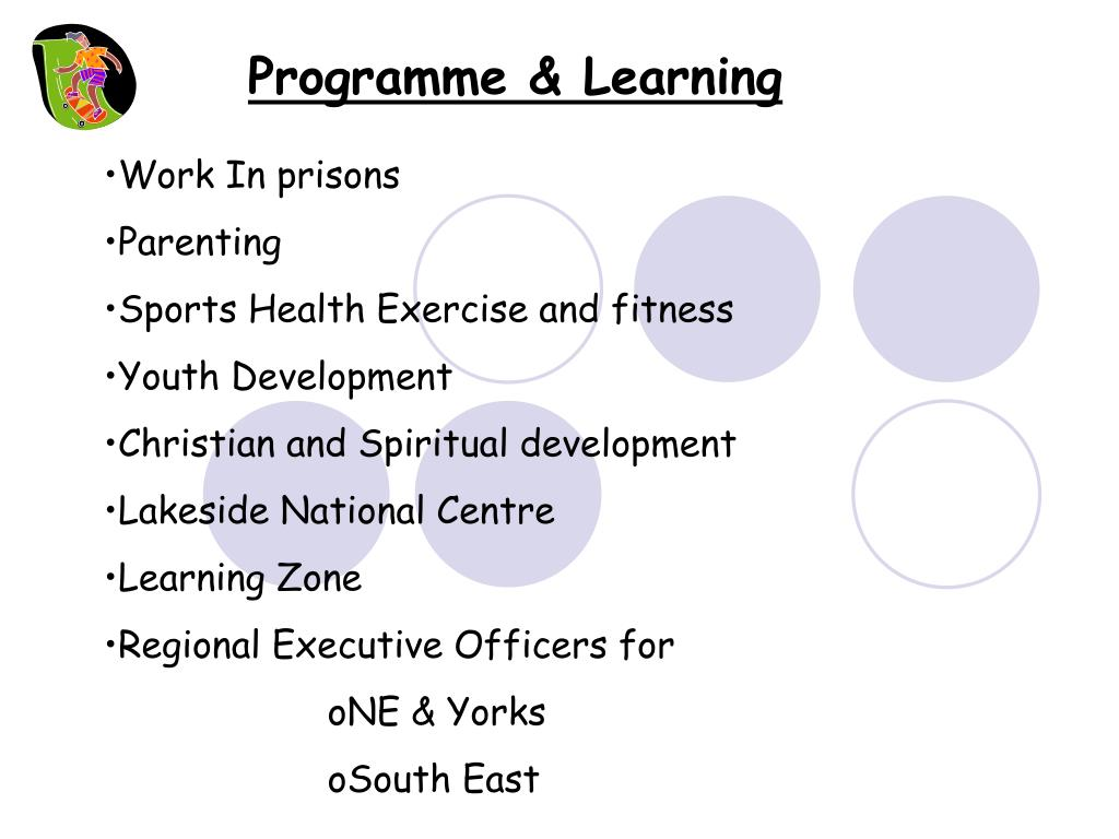 Programme & Learning