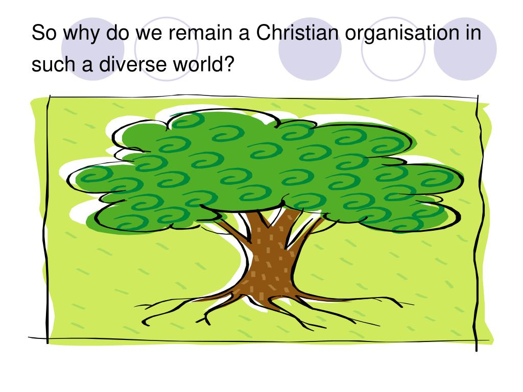 So why do we remain a Christian organisation in such a diverse world?