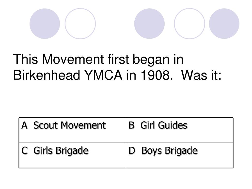 A  Scout Movement
