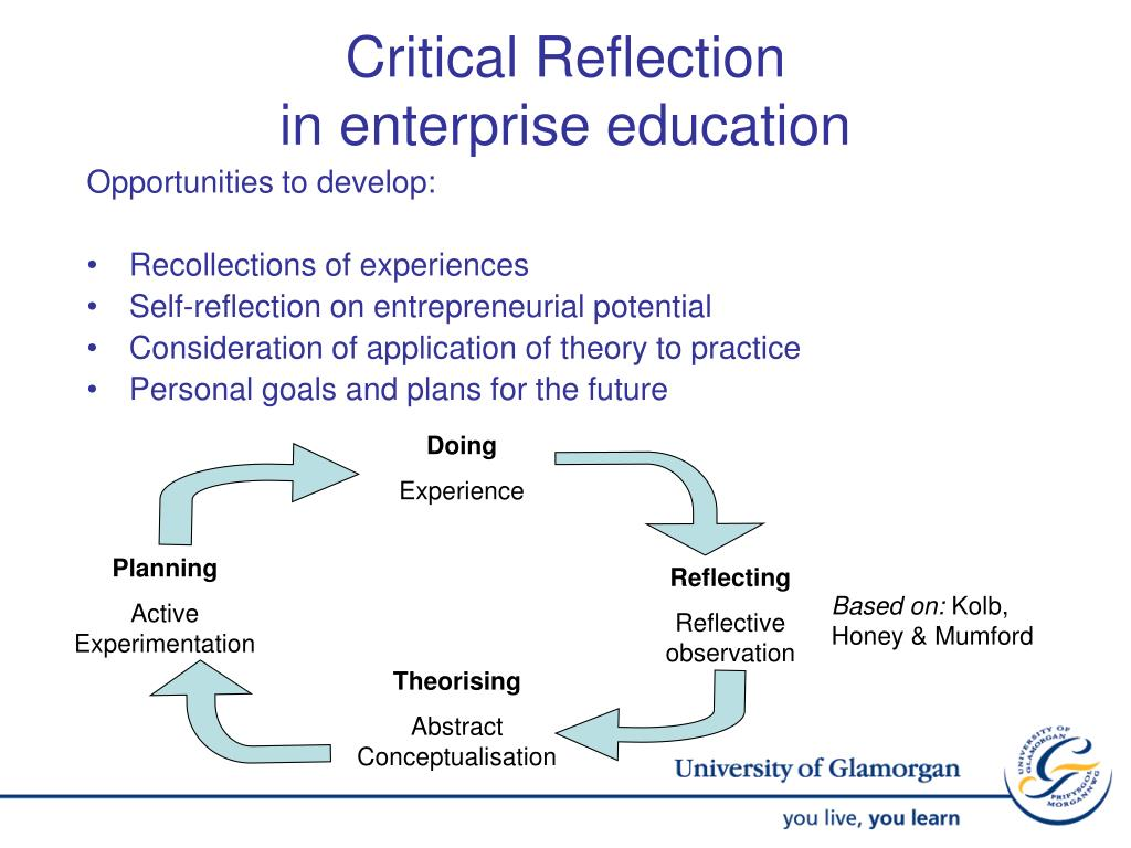 a critical reflection of continued professional development It requires nurses to engage in reflective practice and keep records of this continued professional development for possible review by the college critical thinking is also considered important for human rights education for toleration.
