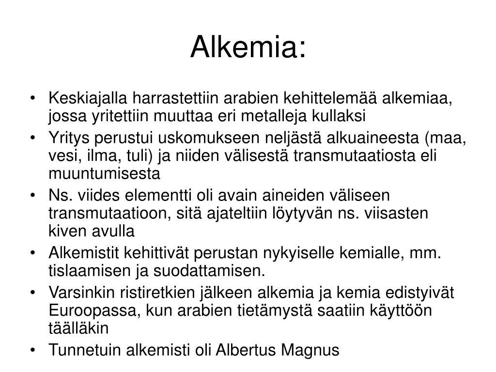 Alkemia: