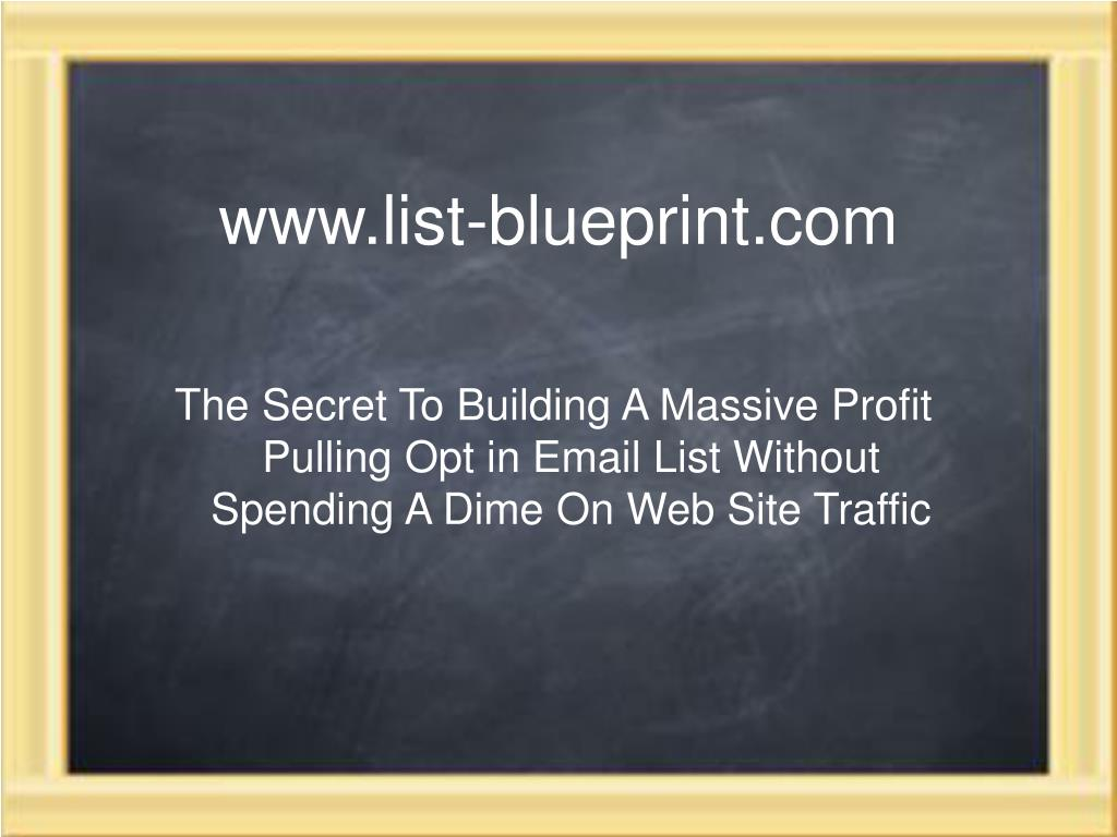 www.list-blueprint.com