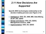 2 11 how decisions are supported