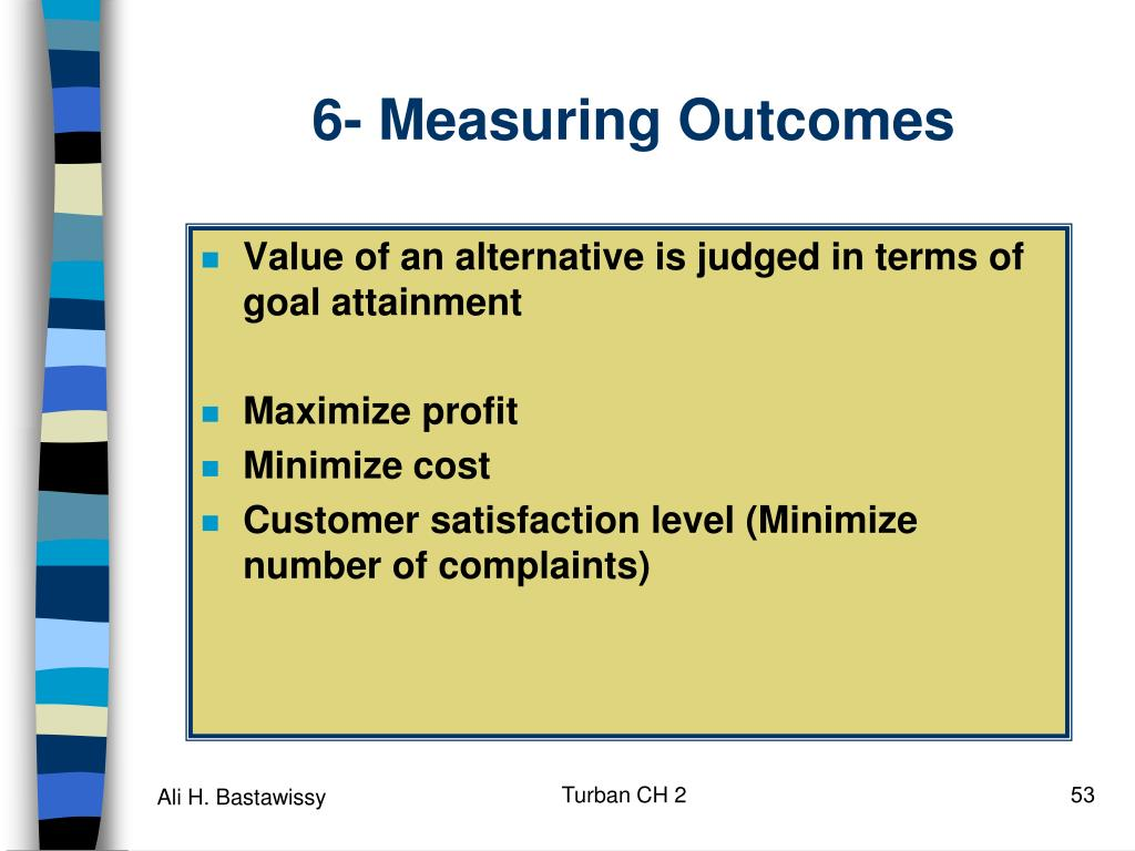 6- Measuring Outcomes