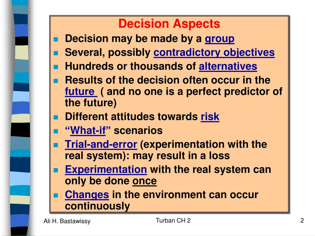Decision Aspects
