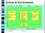system environment