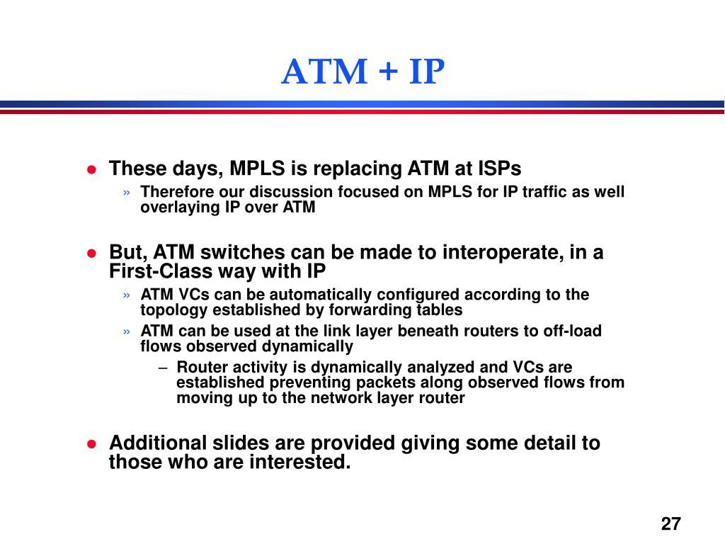 ATM + IP