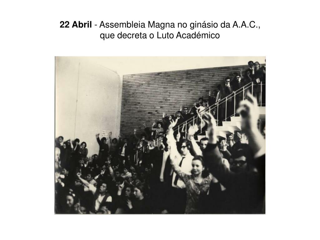 22 Abril