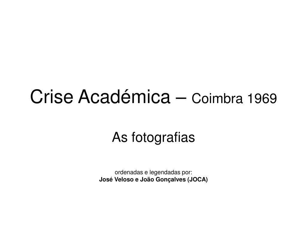 Crise Académica –
