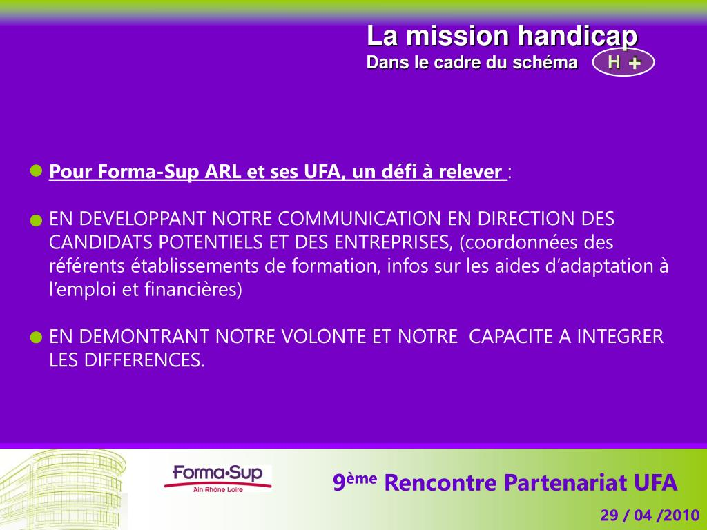 La mission handicap