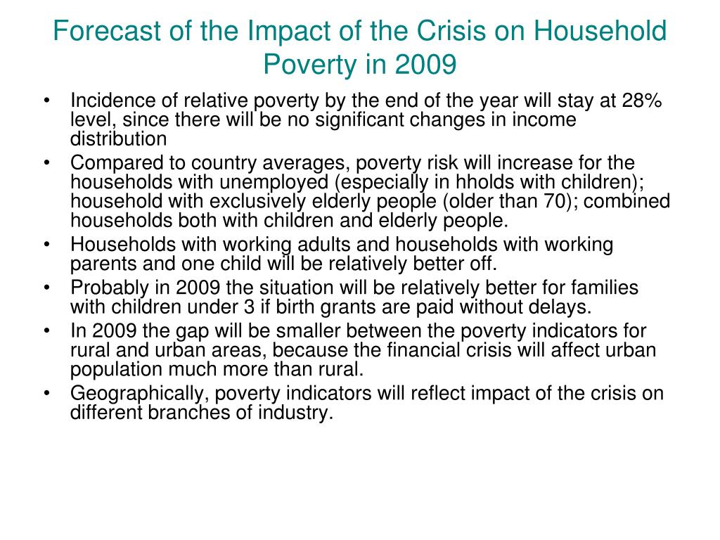 a personal analysis on the effects of poverty Social workers' perspective on both the person (those who are poor) and the  environment (the  social workers see first-hand the debilitating effect of poverty  on those  tpc provides timely, accessible analysis and facts about tax policy to .