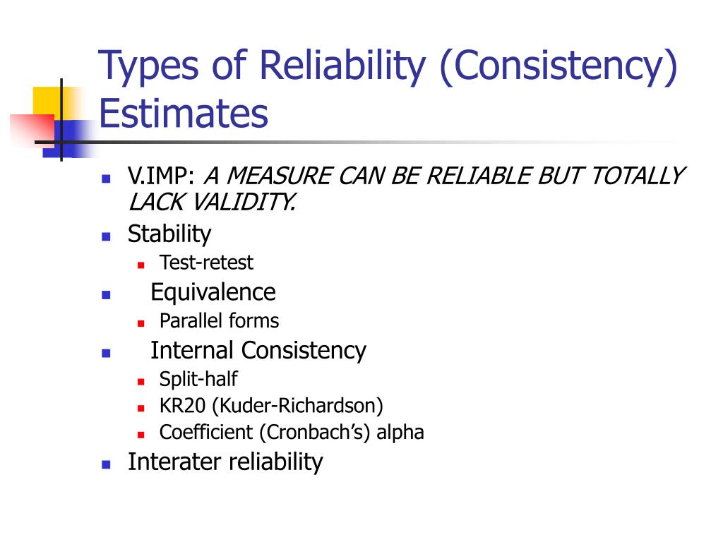 test retest with equivalent forms method of reliability Test-retest reliability coefficient is a measure of how consistent the results of a test are over time learn more about the test-retest.