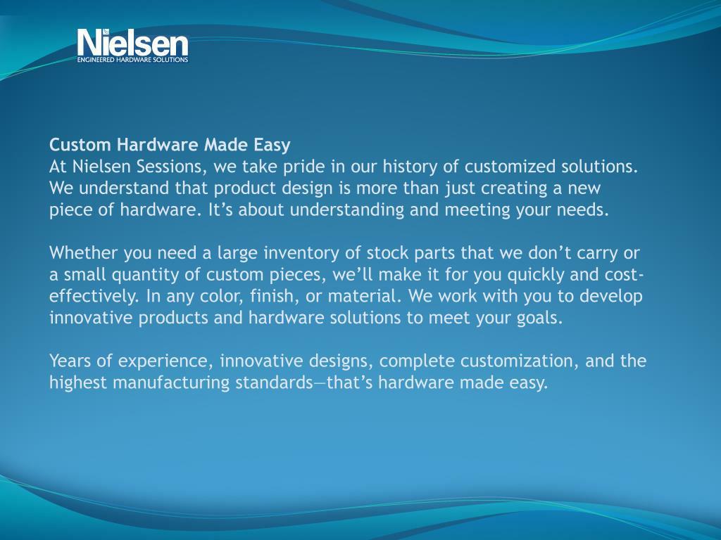 Custom Hardware Made Easy