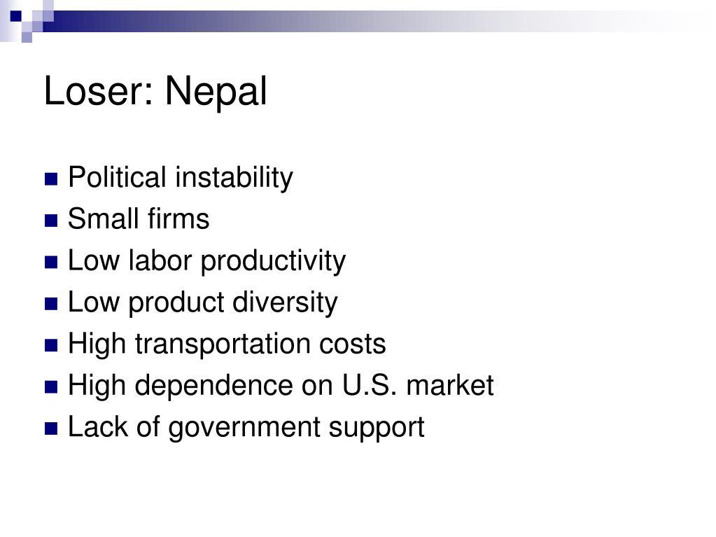 Loser: Nepal