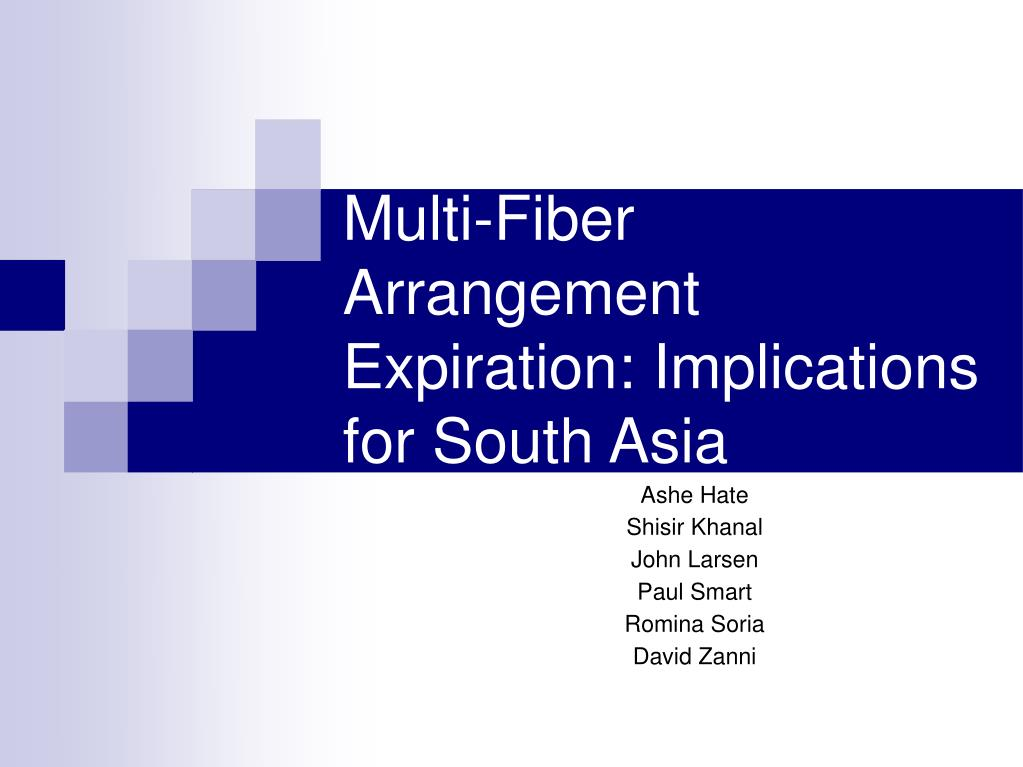 multi fiber arrangement expiration implications for south asia