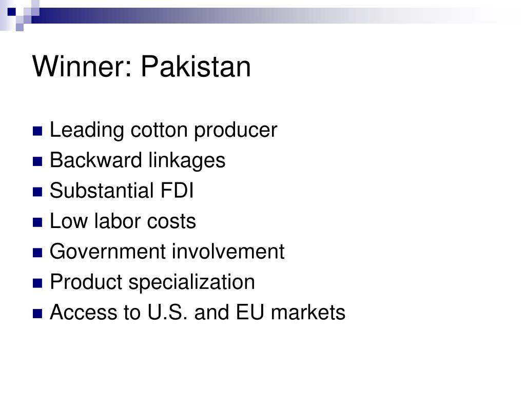 Winner: Pakistan