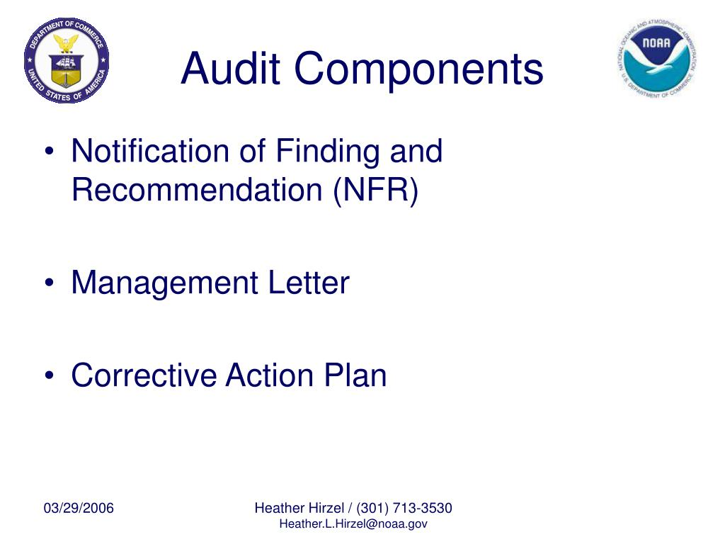 Audit Components