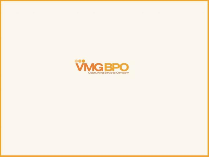 Vmg bpo business process outsourcing company